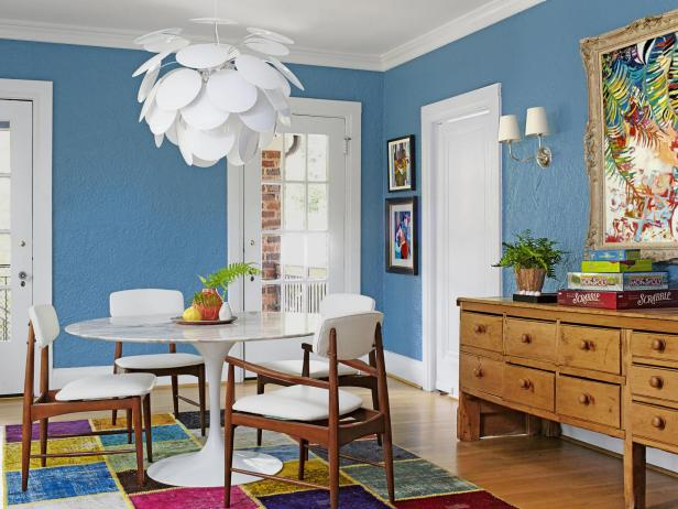 Eclectic Dining Room