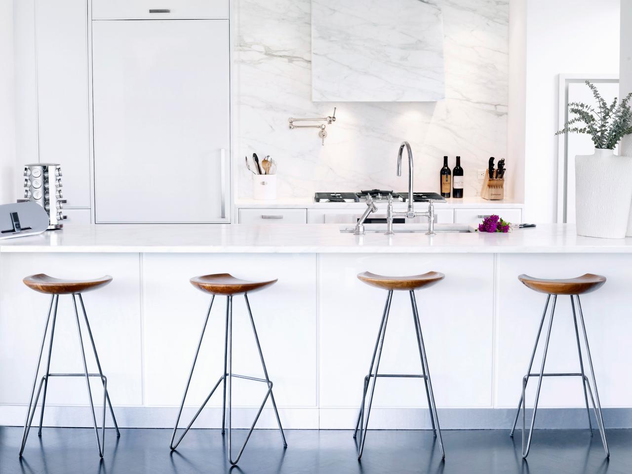 Modern White Kitchen Pics: White Kitchen Designs: HGTV Pictures, Ideas & Inspiration
