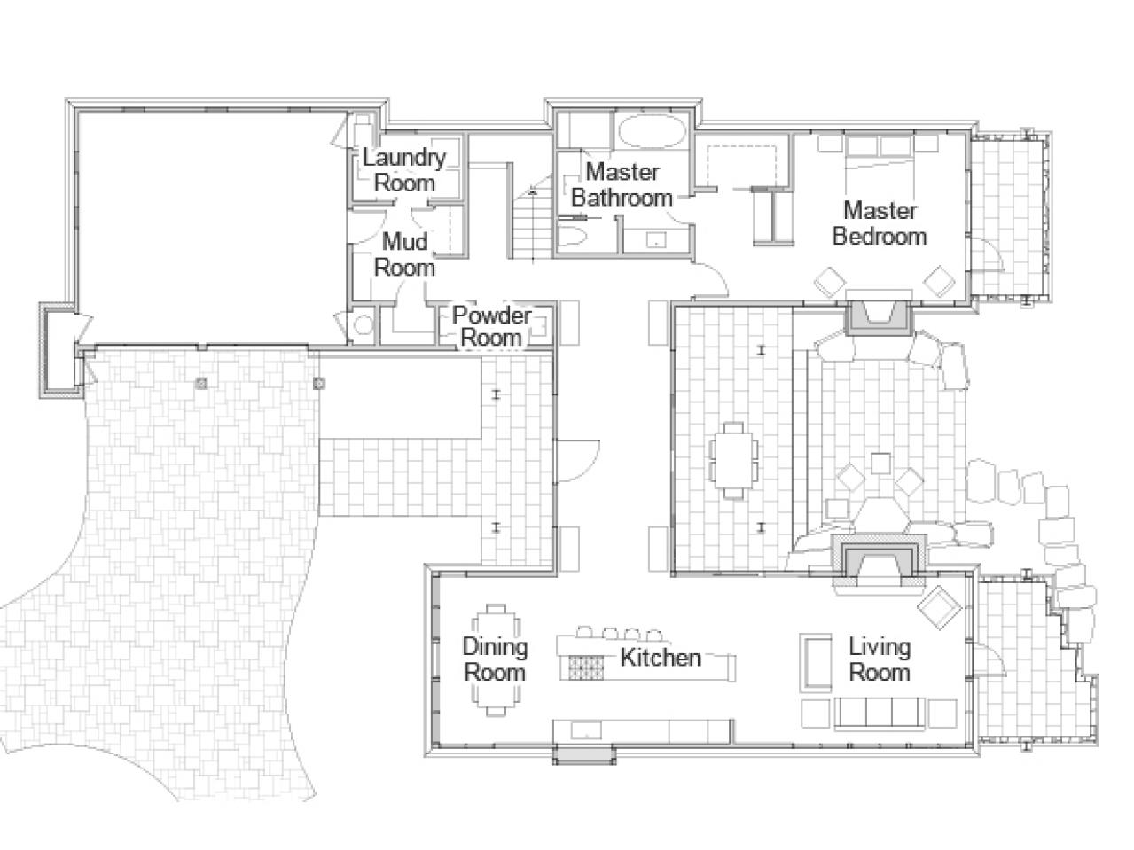Hgtv dream home 2014 floor plan pictures and video from for Dream house blueprints