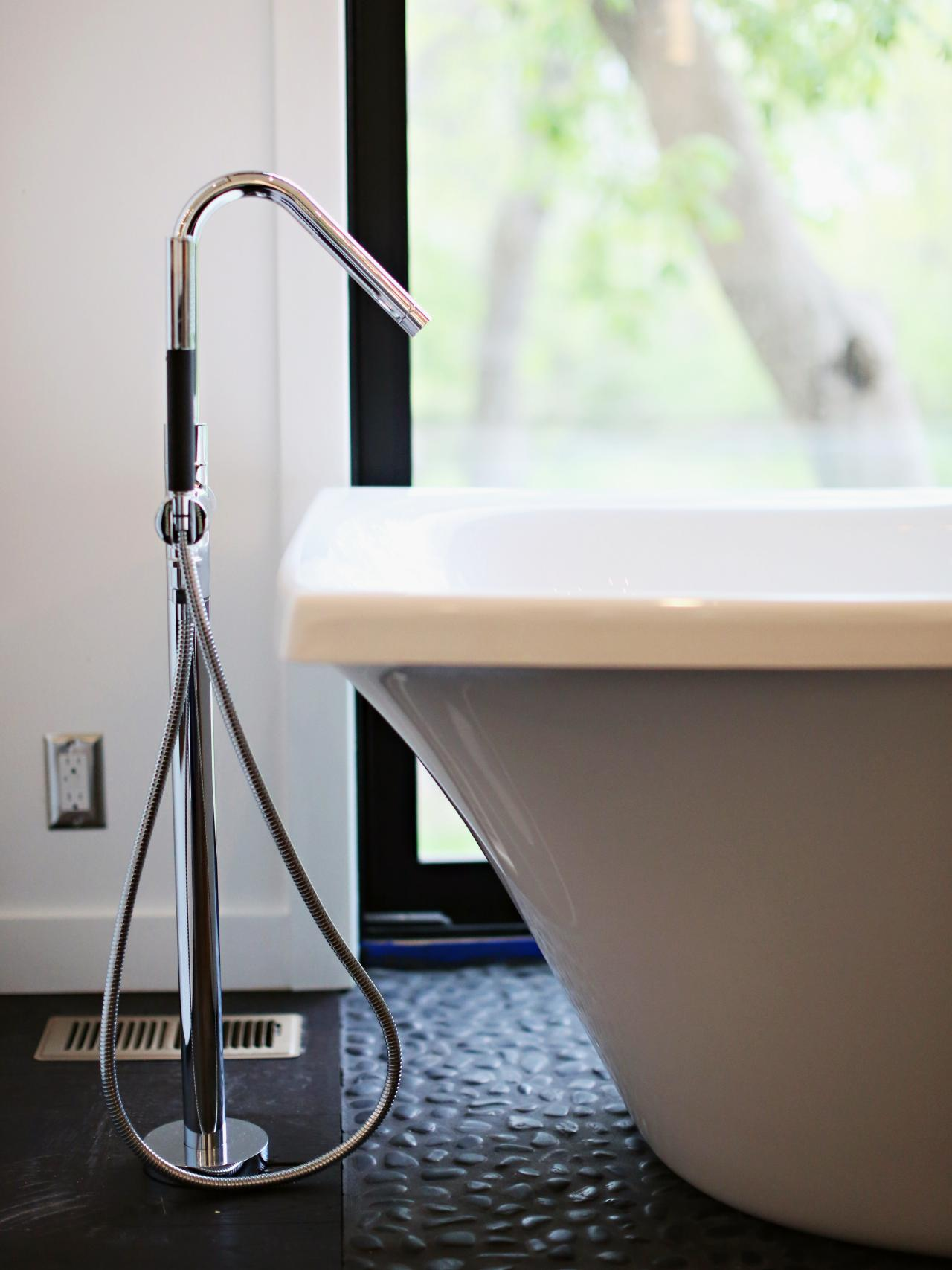 most comfortable freestanding tub. Material mindset  Unique Freestanding Tub Faucet Bathtub Buying Tips HGTV