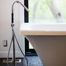Unique Freestanding Tub Faucet