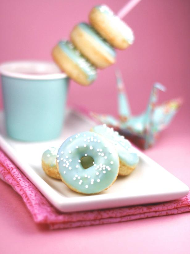 Vanilla Bean Mini Donuts