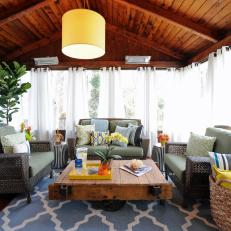 Coastal Outdoor Living Room