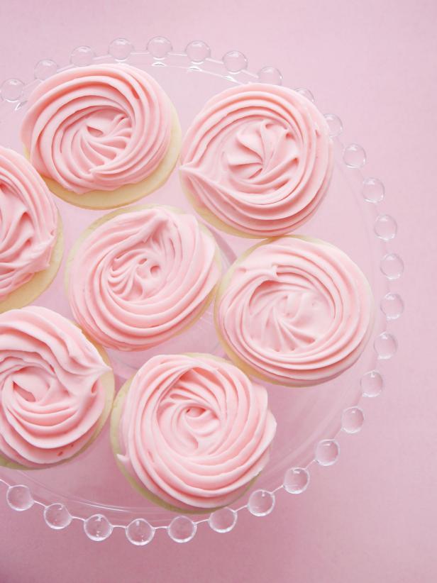 Rose Swirl Vanilla Bean Cookies Recipe