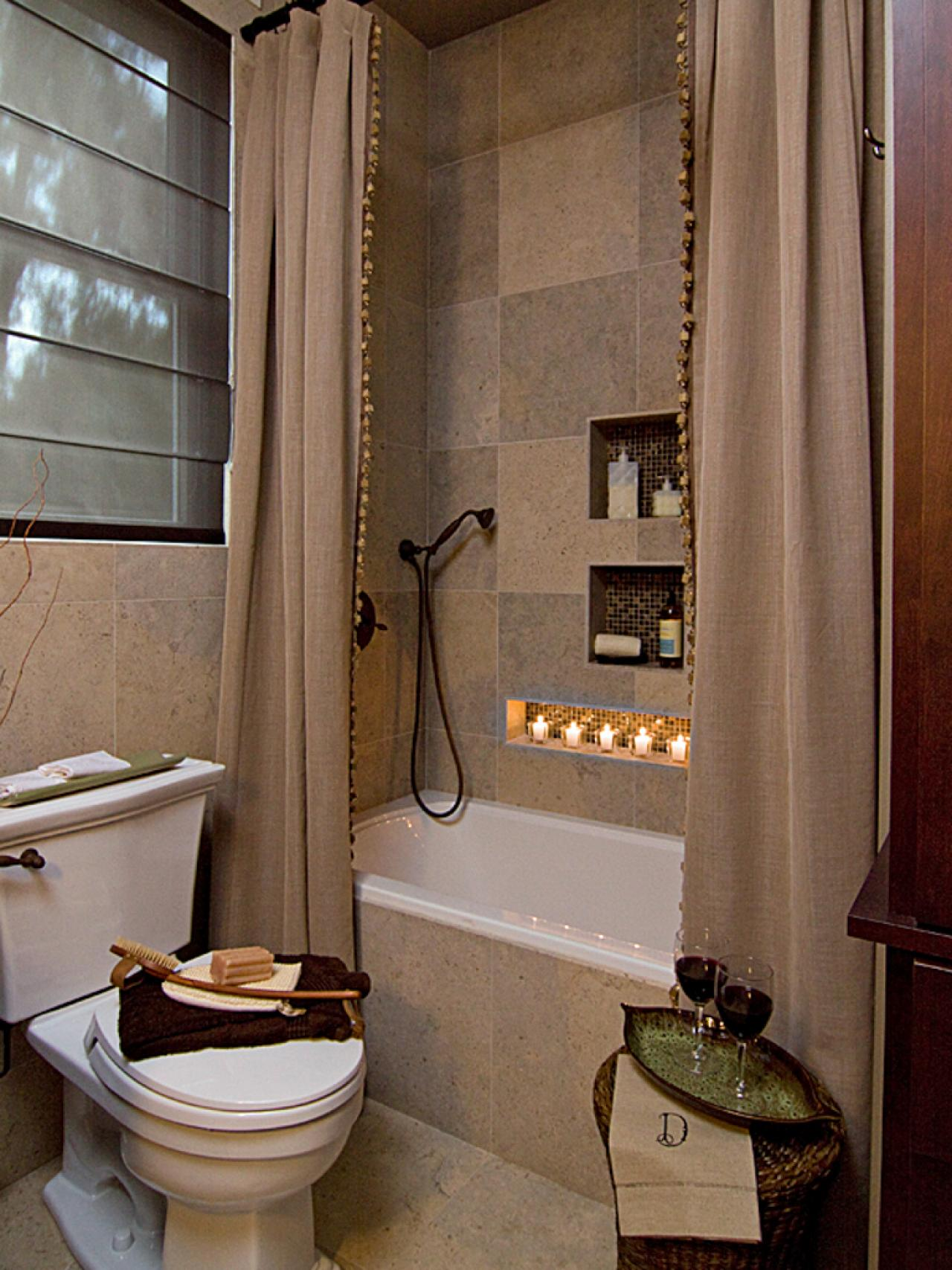 Modern bathroom design ideas pictures tips from hgtv for Bathroom designs hgtv
