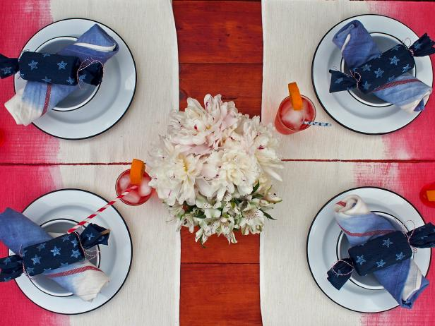 Ombre Party Tablescape