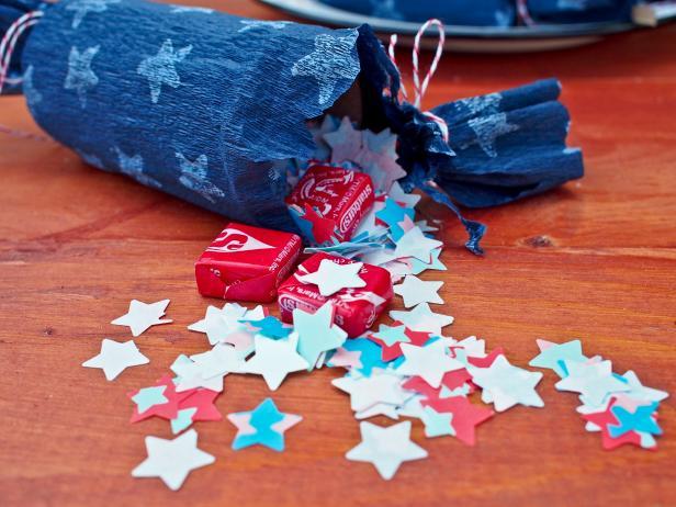 Flameless Party Cracker Treats