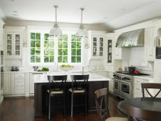Bright Cottage Kitchen