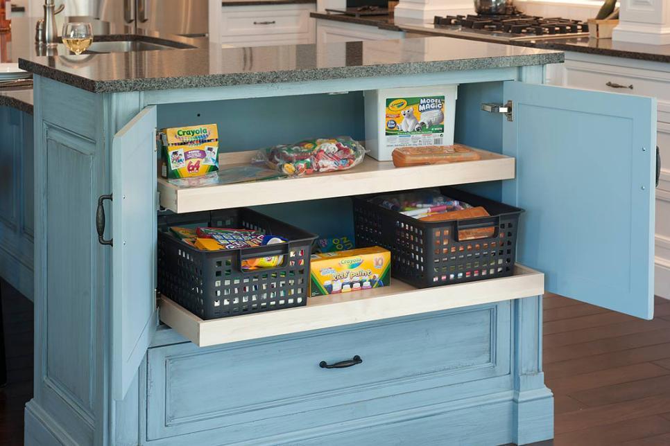 Best Kitchen Storage Ideas Part - 28: HGTV.com