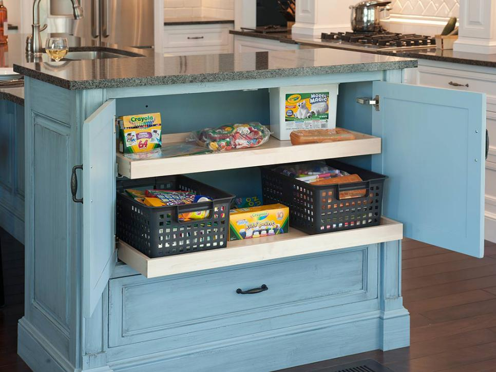 kitchen storage ideas hgtv - Kitchen Cabinets Storage Ideas