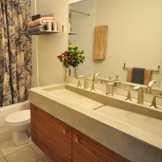 Sophisticated Double Vanity Bathroom