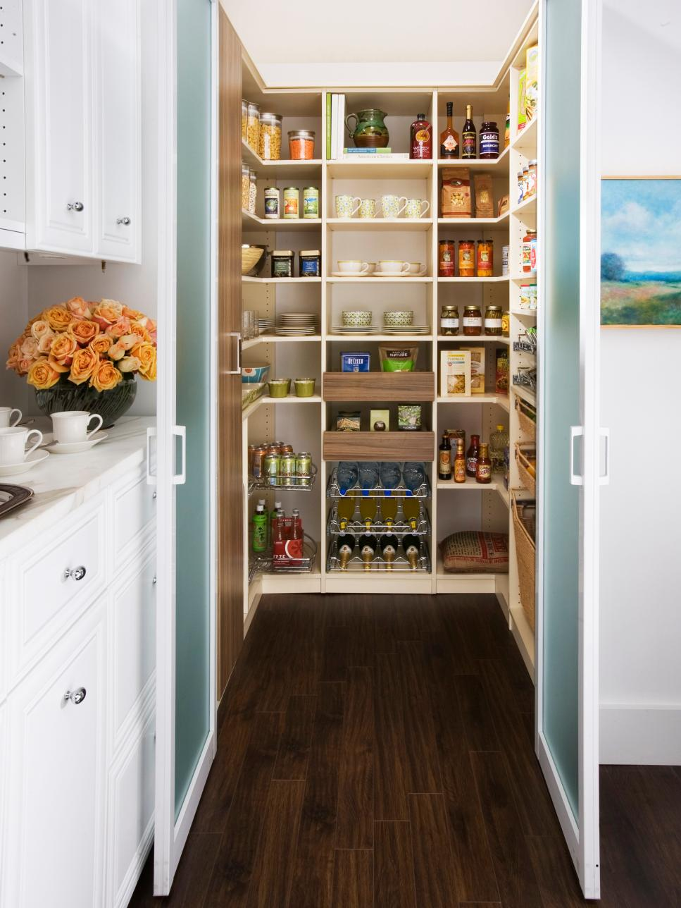 kitchen storage ideas hgtv - Ideas For Kitchen Cabinets