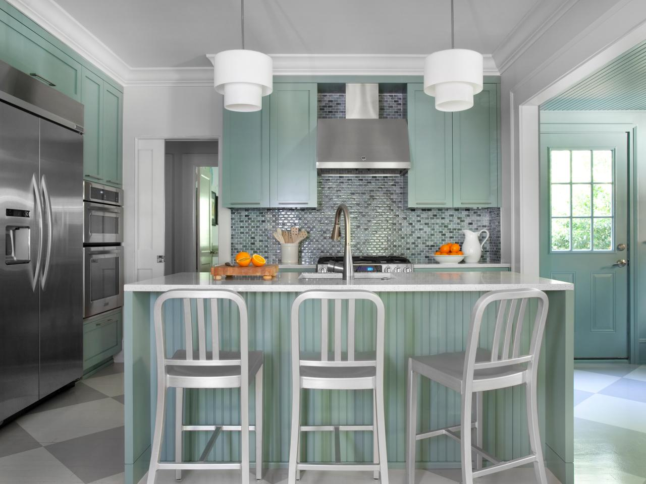 Shaker Kitchen Cabinets Pictures Ideas  Tips From HGTV HGTV - Kitchen front design