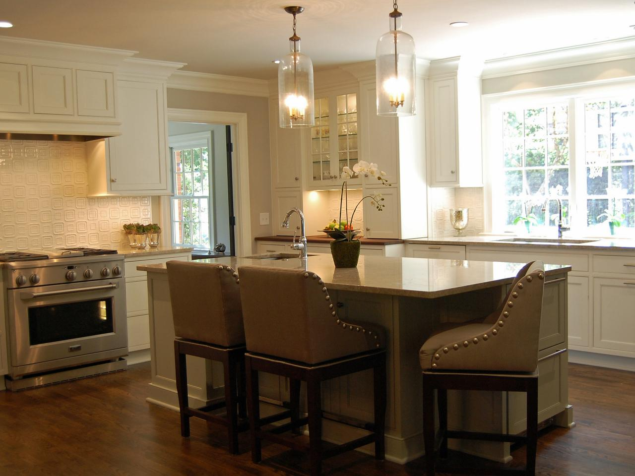 Elegant open kitchen karen kettler hgtv for Hgtv kitchens