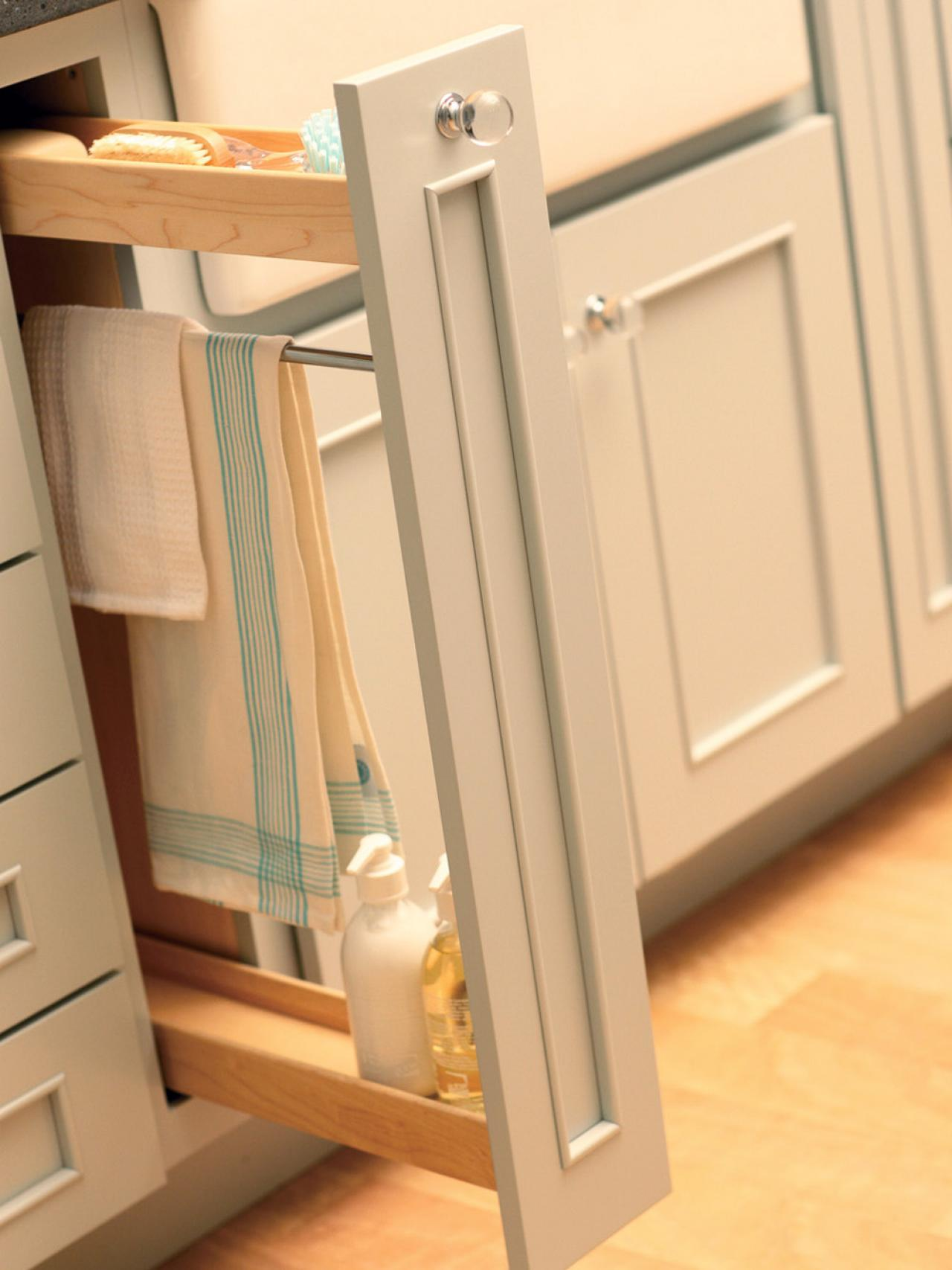 Kitchen storage ideas kitchen ideas design with Kitchen under cabinet storage ideas