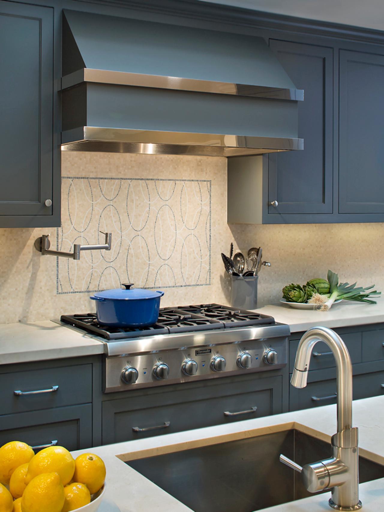 Blue gray kitchen cabinets - Blue Gray Kitchen Cabinets 46