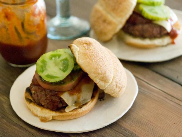50/50 Bacon Beef Burger