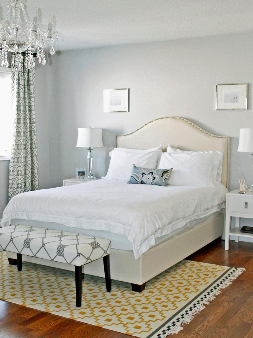 Beautiful bedrooms 15 shades of gray hgtv Beautiful grey bedrooms