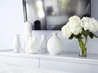 White Vases Blend In
