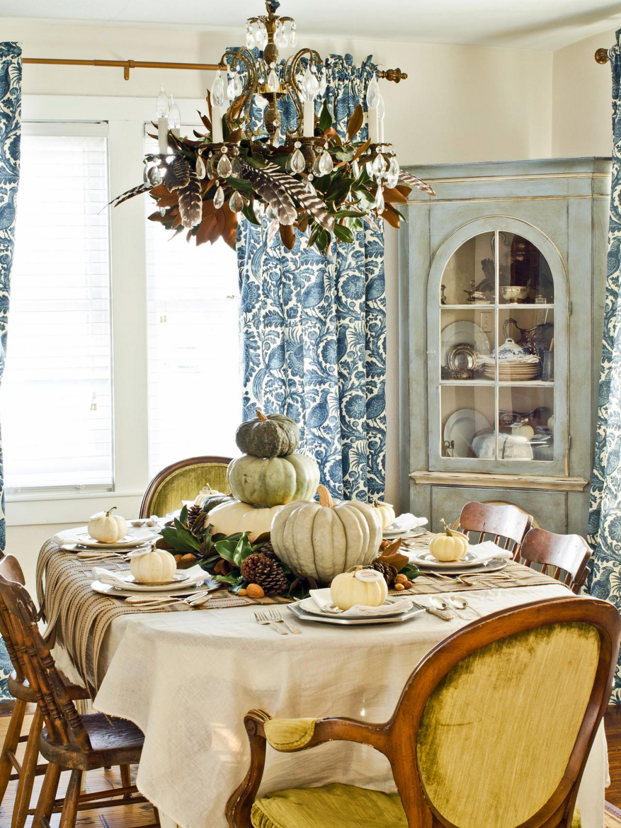 13 rustic thanksgiving table setting ideas entertaining - Dining table setting ideas ...
