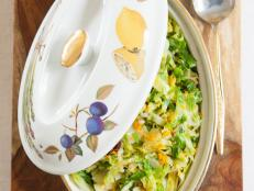 Heirloom China Dish for Sauteed Brussels Sprouts