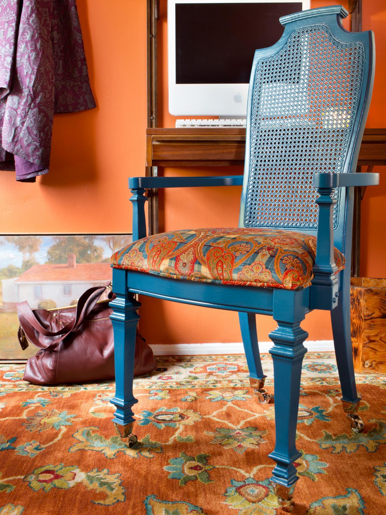 BPF Original Dining Chair Into Desk Beauty Shot And V