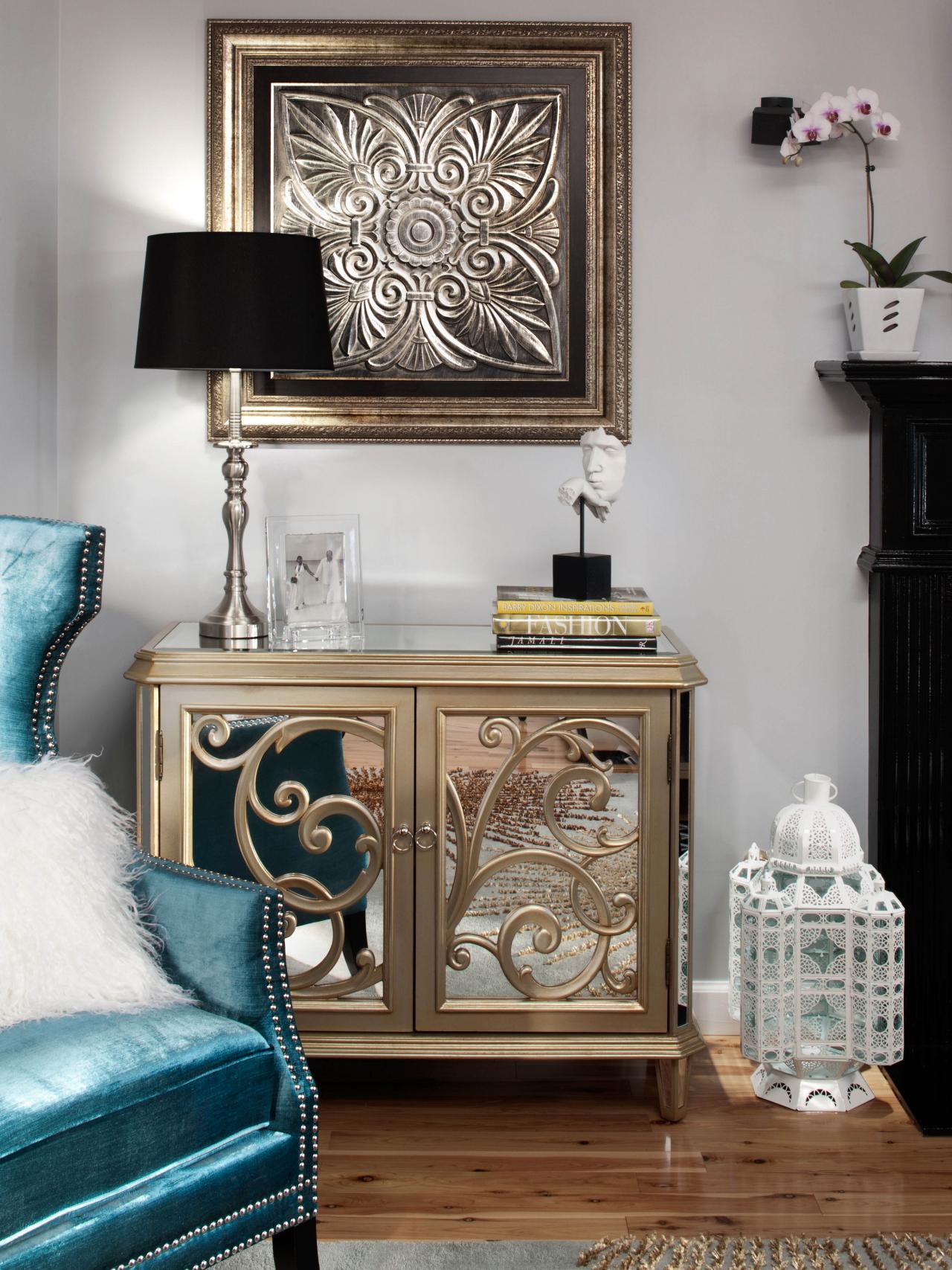 Elegant Gray Living Room