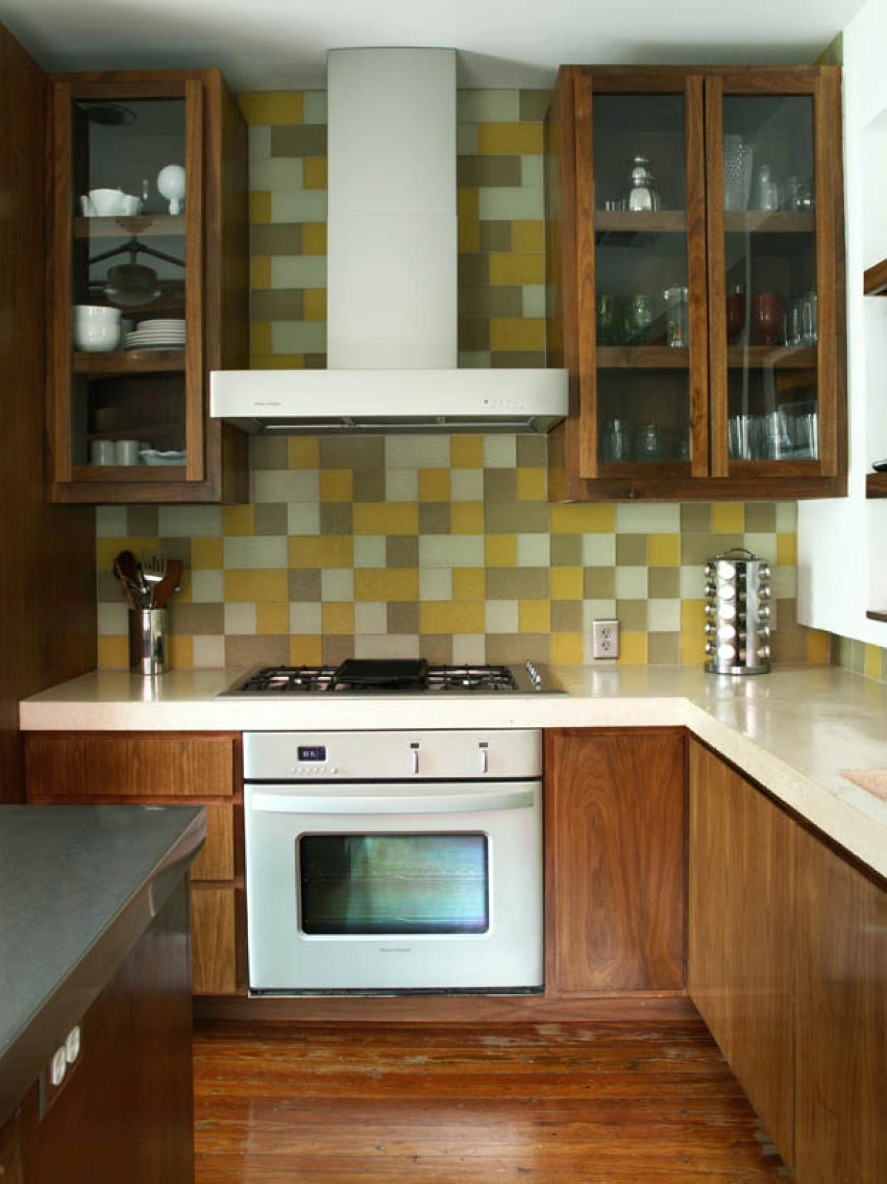 glass tile backsplash ideas: pictures & tips from hgtv | hgtv