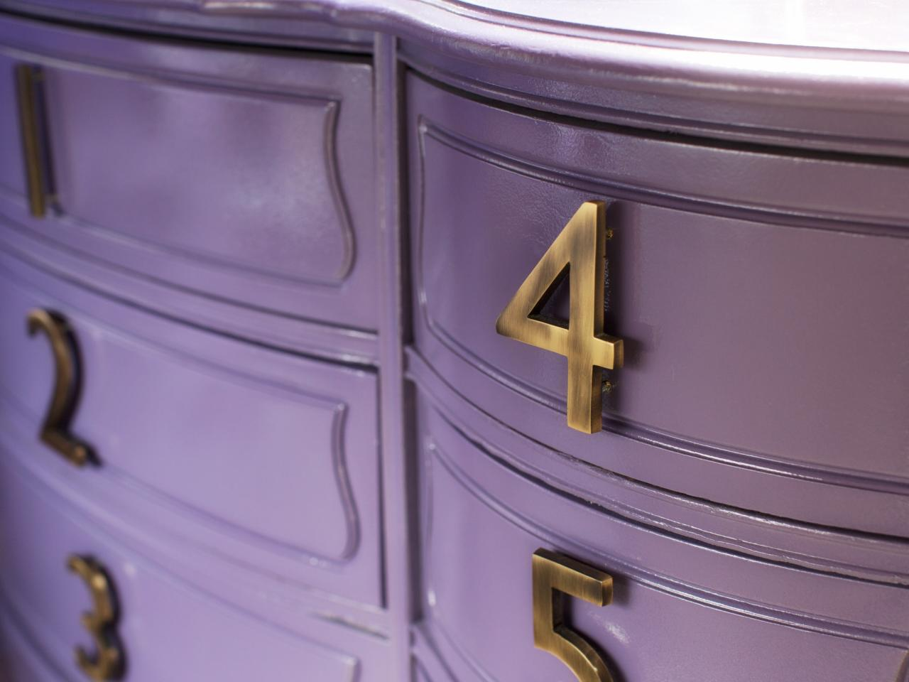 how to update an old chest of drawers