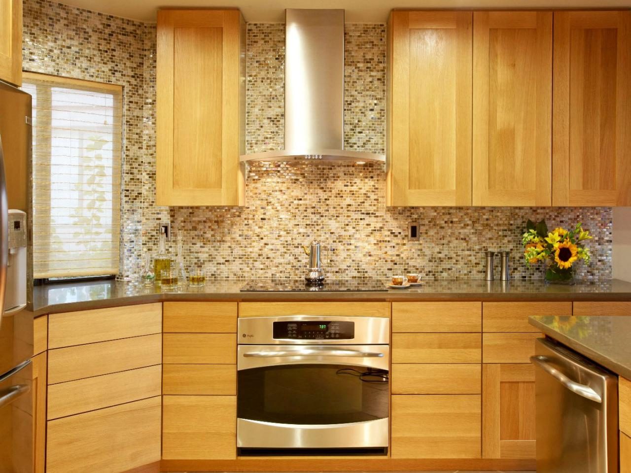 Kitchen Backsplash Designs Adorable Glass Tile Backsplash Ideas Pictures & Tips From Hgtv  Hgtv Decorating Design