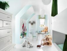 Attic Bedroom for Kids
