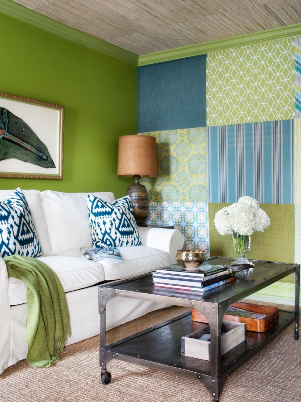 Design savvy tips for a mixed use space hgtv Media room paint ideas