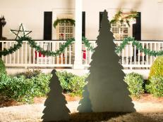 Add a Backlit Christmas Tree to the Front Yard