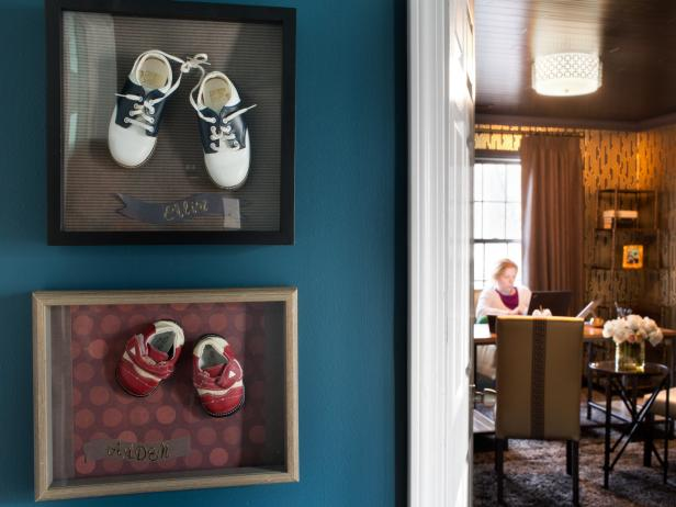 Baby Shoes Shadowbox