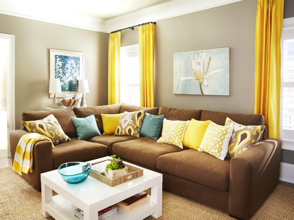 Stylish condo living hgtv for Condo living room ideas