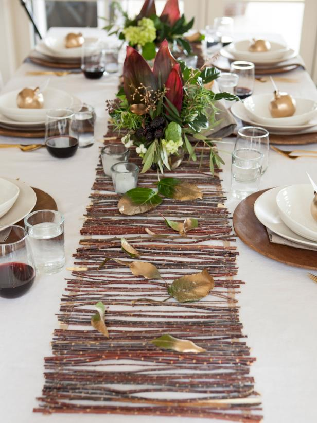 Create A Twig Table Runner
