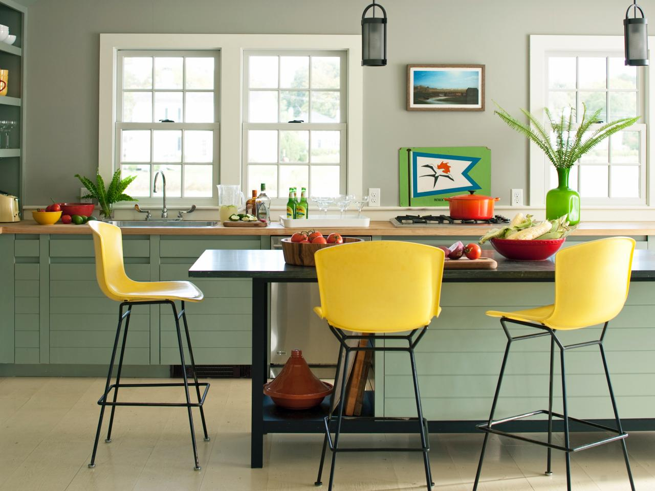 Blue Kitchen Paint Colors Pictures Ideas Tips From HGTV HGTV