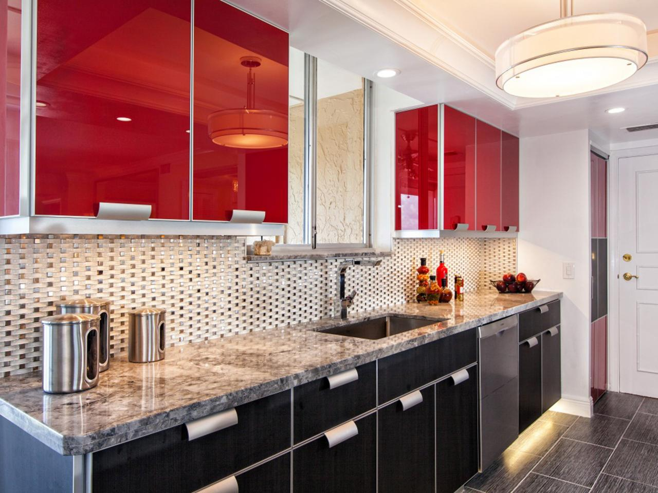 Red And Black Kitchen Red Kitchen Paint Pictures Ideas Tips From Hgtv Hgtv