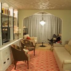 Mediterranean-Inspired Living Room