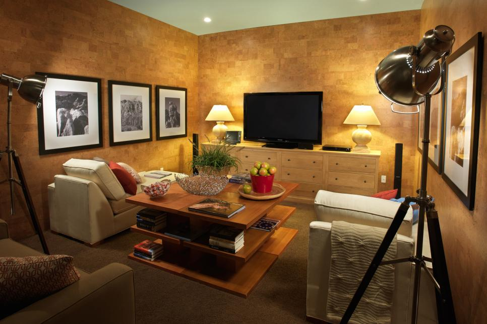 Home Theater Decorating and Design Ideas with Pictures | HGTV