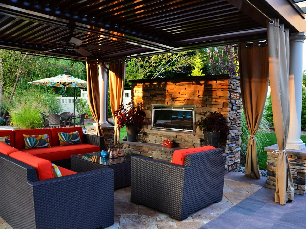 Multifunctional outdoor oasis marc nissim hgtv Home garden tv
