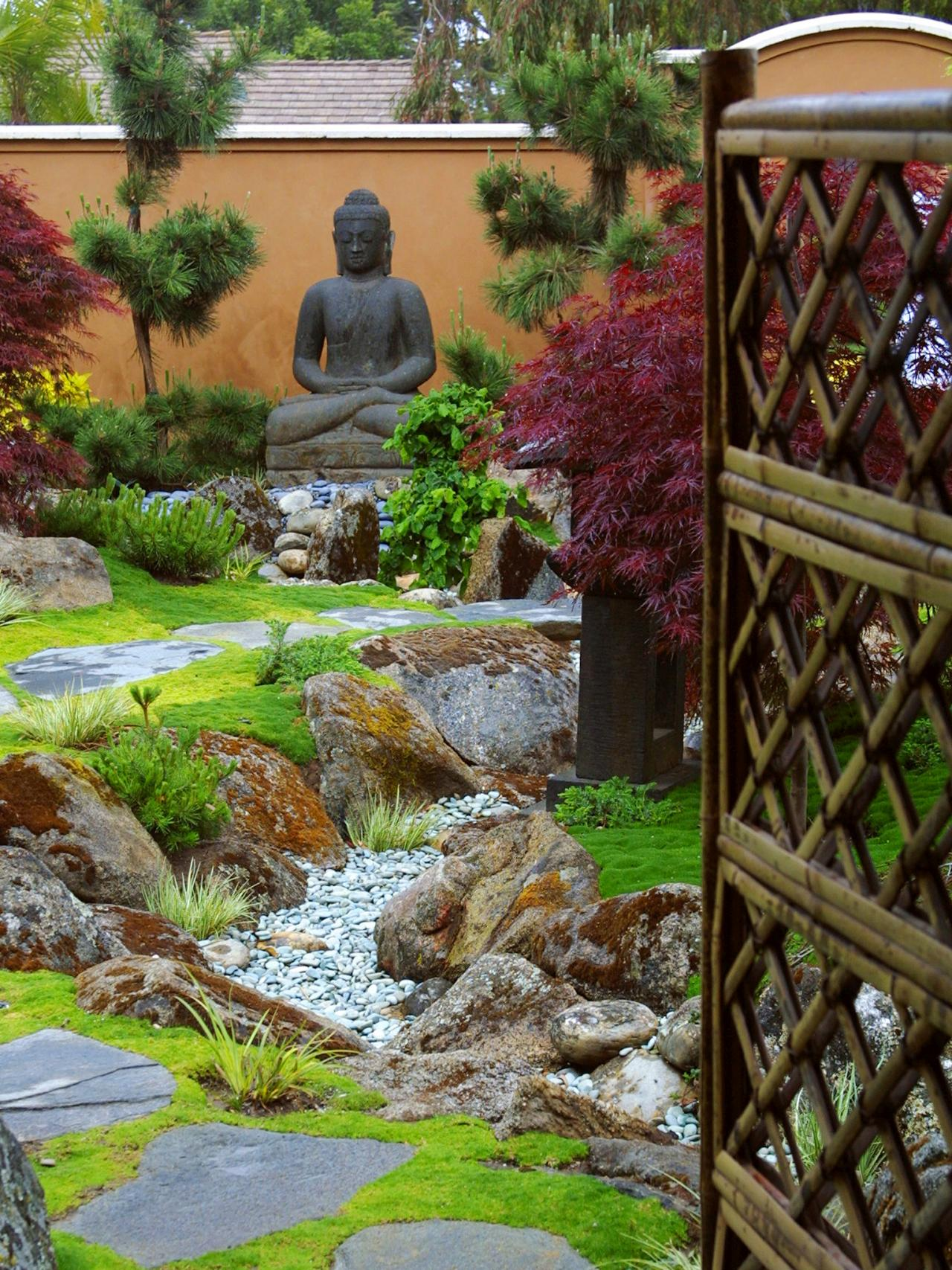 luxurious zen garden retreat margie grace hgtv