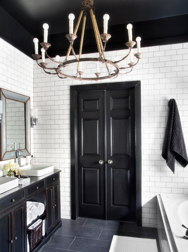 Bold, Black Interior Doors: Inspiration And Tips | HGTVu0027s Decorating U0026  Design Blog | HGTV