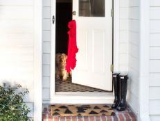 Modern Monogrammed Doormat