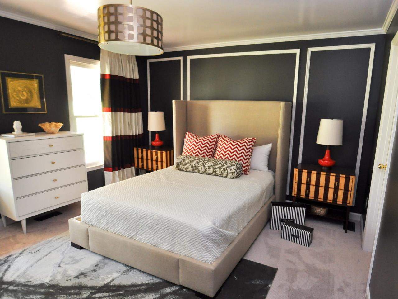 designer inspired master bedroom evaru design hgtv. Black Bedroom Furniture Sets. Home Design Ideas
