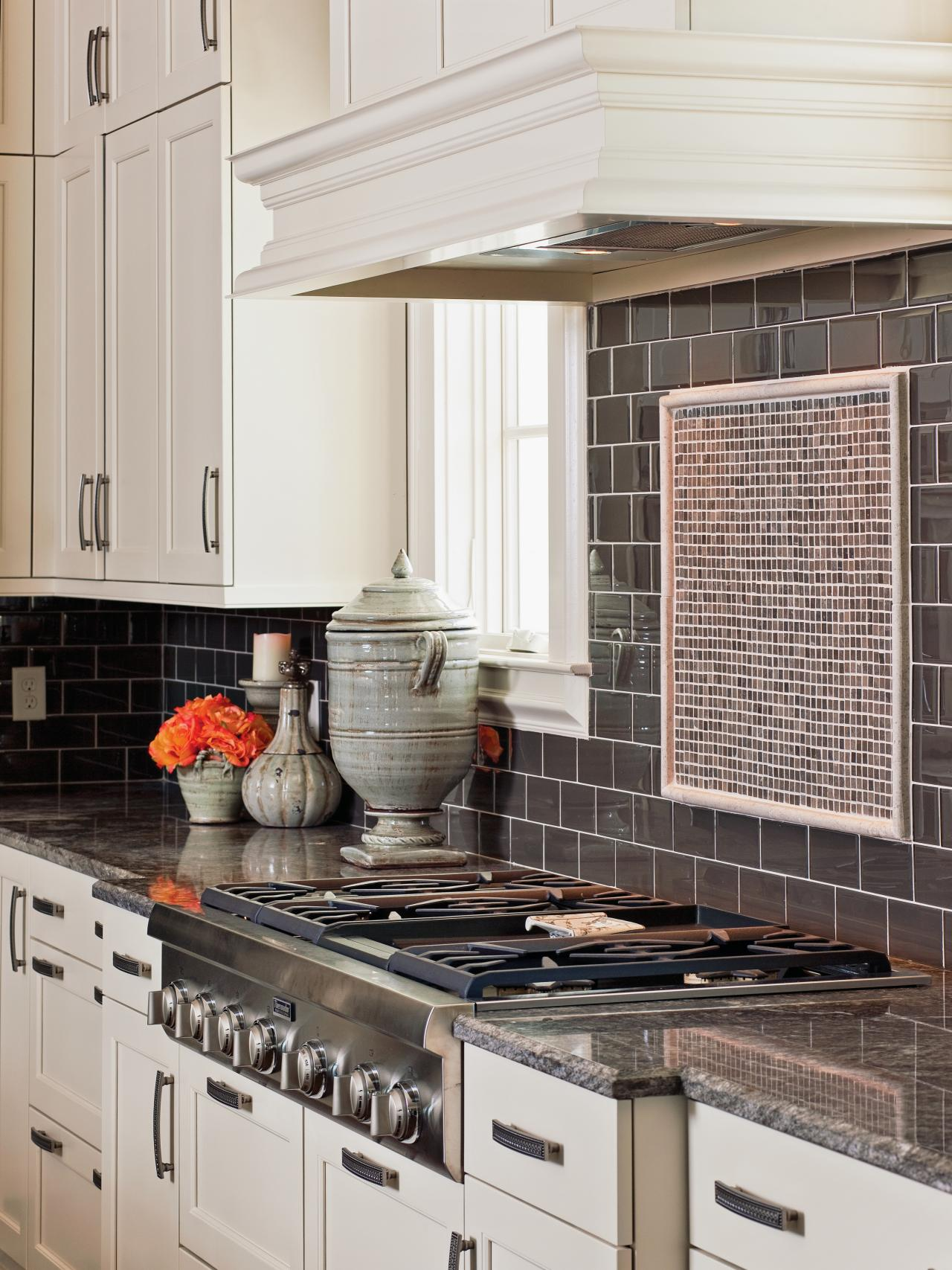 glass tile backsplash ideas pictures tips from hgtv hgtv glass tile backsplash ideas