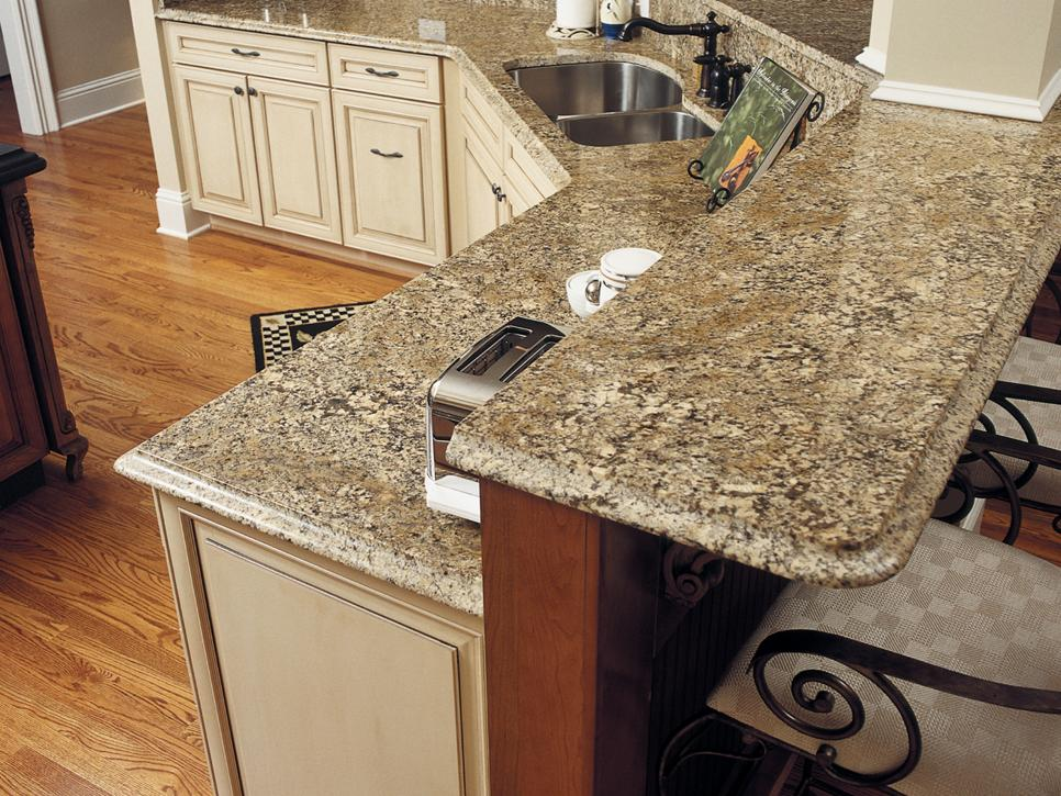 Transitional white kitchen redesign artisan group hgtv for 3 4 inch granite countertops