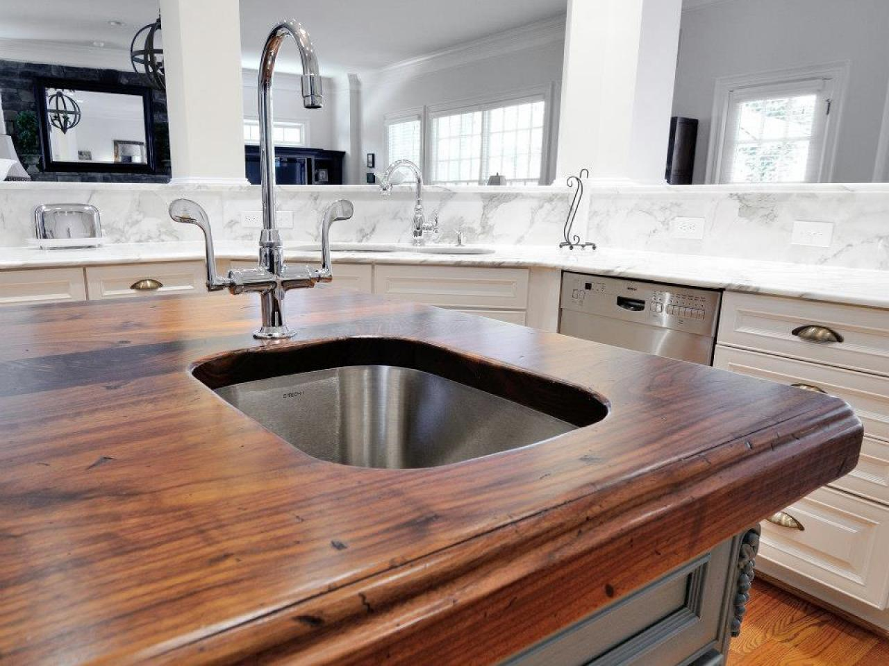 Bathroom Countertop Surface Options : Best Kitchen Countertops: Pictures & Ideas From HGTV Kitchen Ideas ...