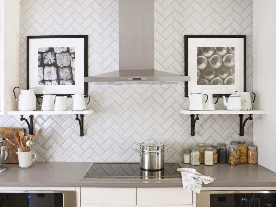 Backsplash Design kitchen design tips from hgtv's sarah richardson | hgtv