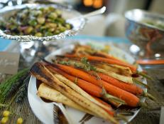 Thyme-Roasted Carrots and Parsnips